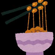 納豆の美味しさ  (´~`)モグモグ